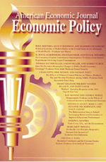 American Economic Journal: Economic Policy Cover