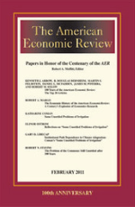 American Economics Review Journal Cover