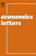 Economics Letters journal cover