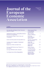 Journal of European Economic Association Cover
