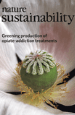 Nature Sustainability journal cover