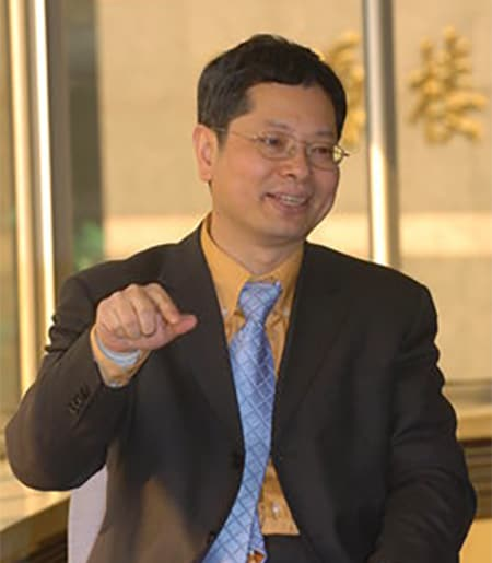 Professor Yongmiao Hong Teaching
